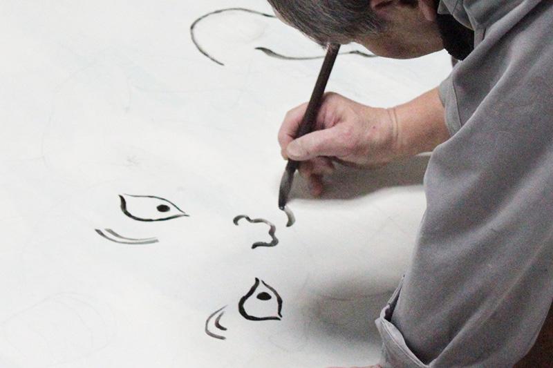 正覚庵の襖絵のイメージ画像