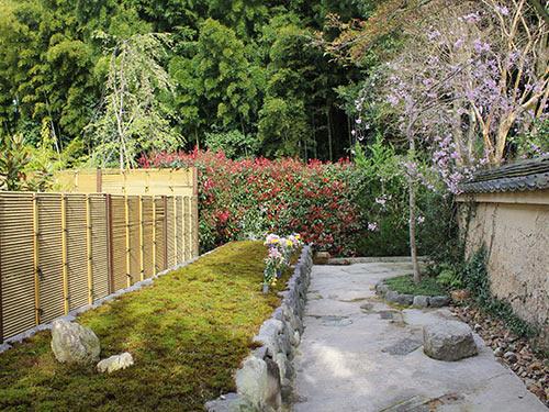 東福寺荘厳院樹木葬の墓苑