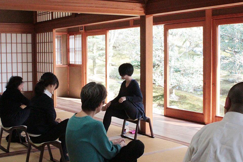 京都の樹木葬の供養祭風景正覚庵