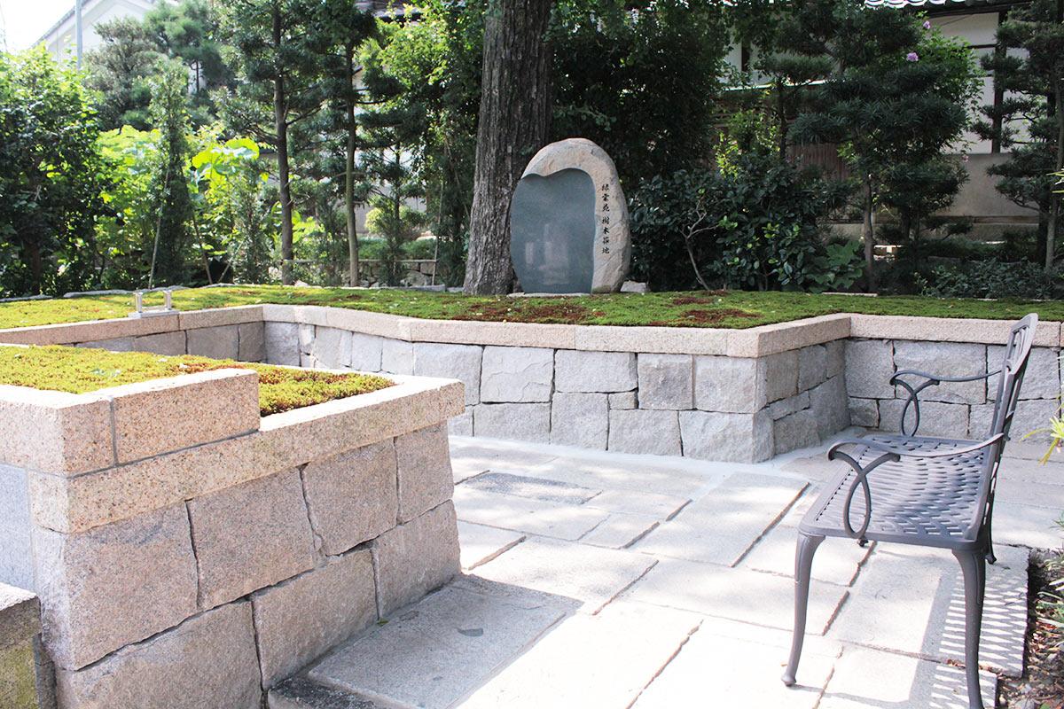 建仁寺塔頭両足院の樹木葬地風景2