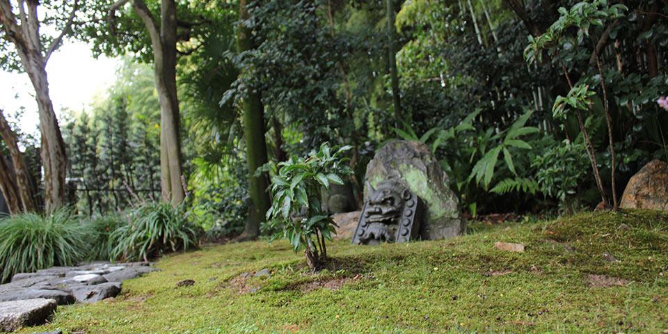 東福寺荘厳院の樹木葬地前の庭