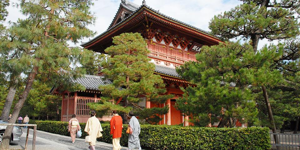 大徳寺の金毛閣