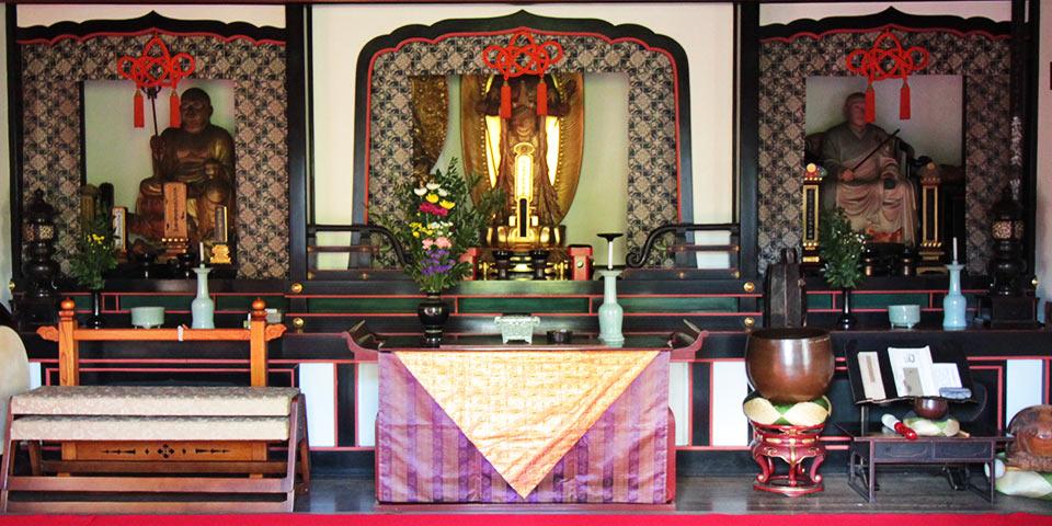 大徳寺の正受院の本堂