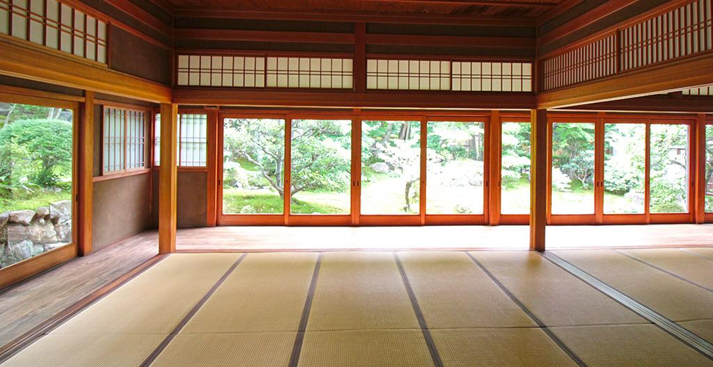 正覚庵の書院からの風景