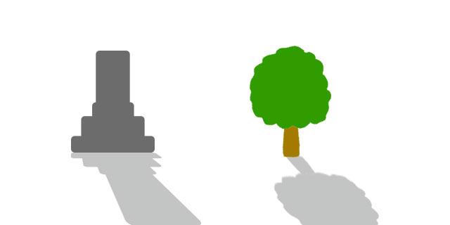 お墓と樹木葬