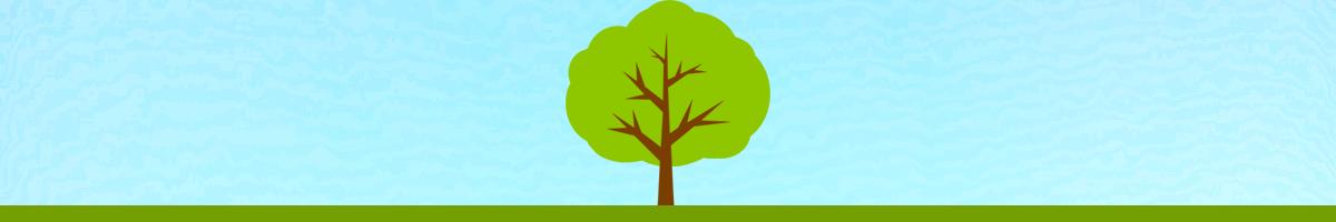 樹木葬見学をイメージしたイラスト