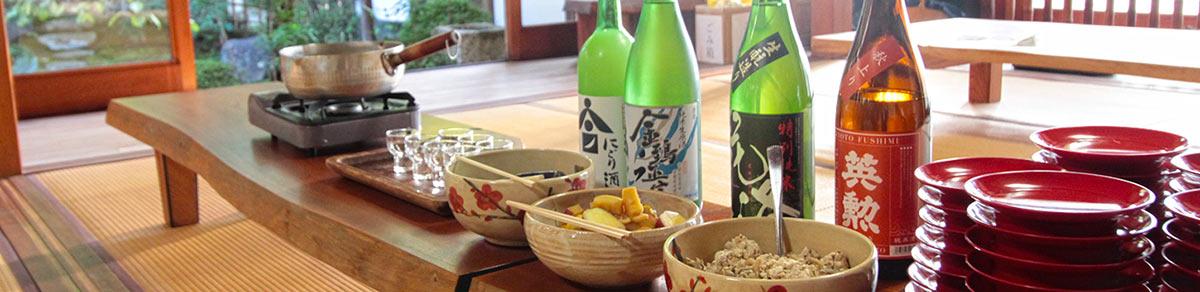 正覚庵の樹木葬の法要祭の宴