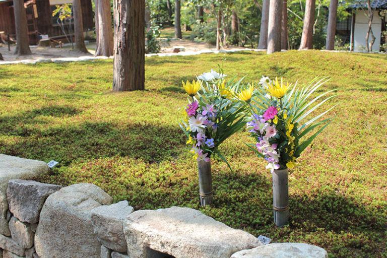 2018年秋の合同供養祭の正覚庵の墓苑