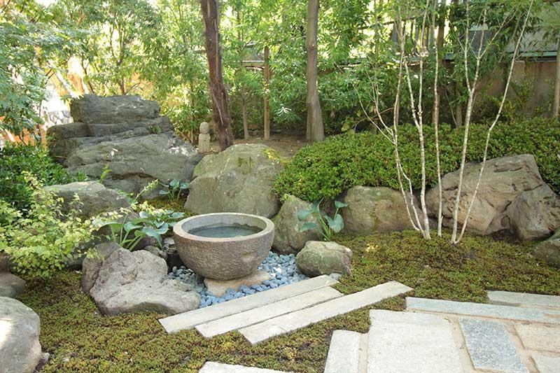 東福寺正覚庵の樹木葬地