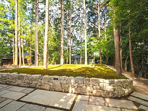 東福寺正覚庵の樹木葬墓苑