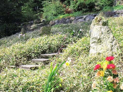 東福寺の即宗院樹木葬の墓苑
