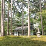 東福寺正覚庵の墓苑風景