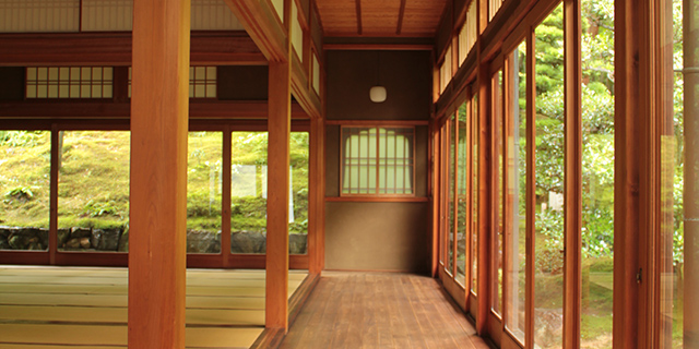 東福寺正覚庵の書院