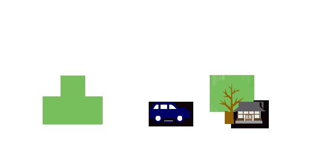 樹木葬は山でなく町中にある