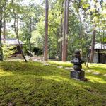 正覚庵の樹木葬の法要祭の時の墓苑
