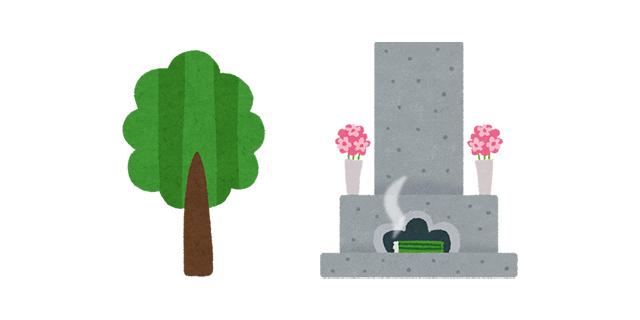 樹木葬とお墓の違い