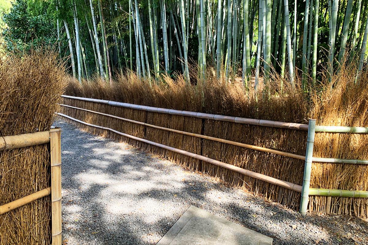 東福寺荘厳院の樹木葬地の入り口