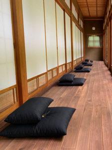 正覚庵の座禅イメージ