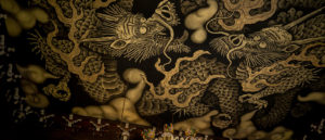 建仁寺の天井双龍図