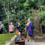 正覚庵の2020年秋の供養祭風景01