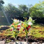 正受院2020年秋の供養祭のお花