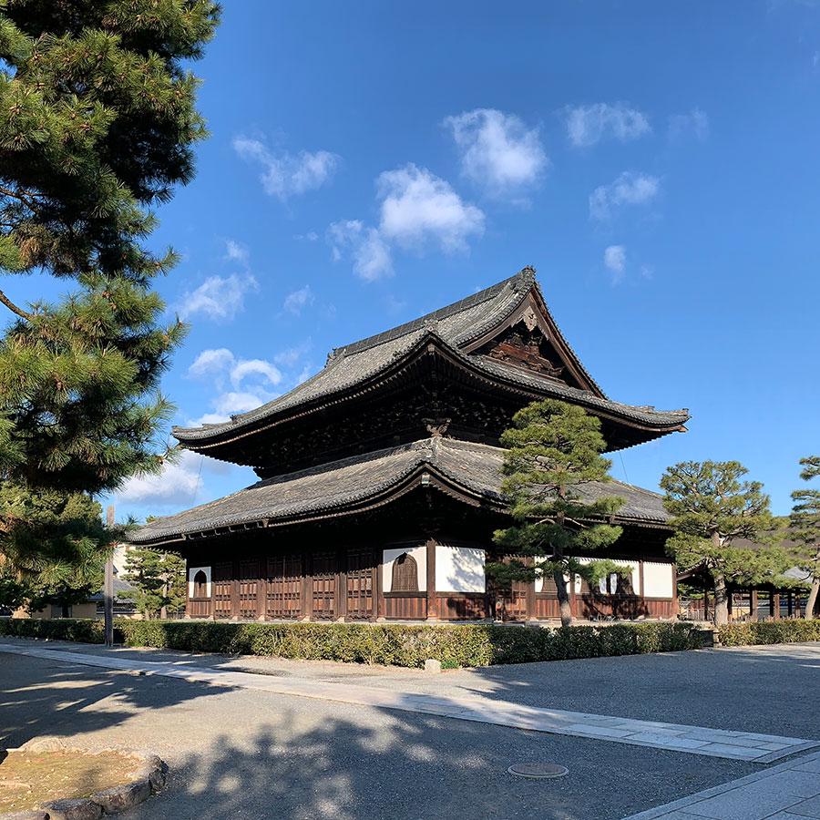 2021年1月29日の建仁寺の風景