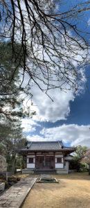 正覚庵の威徳堂の風景