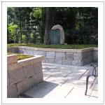 両足院の墓苑