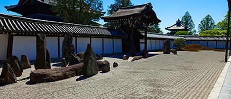 東福寺の枯山水