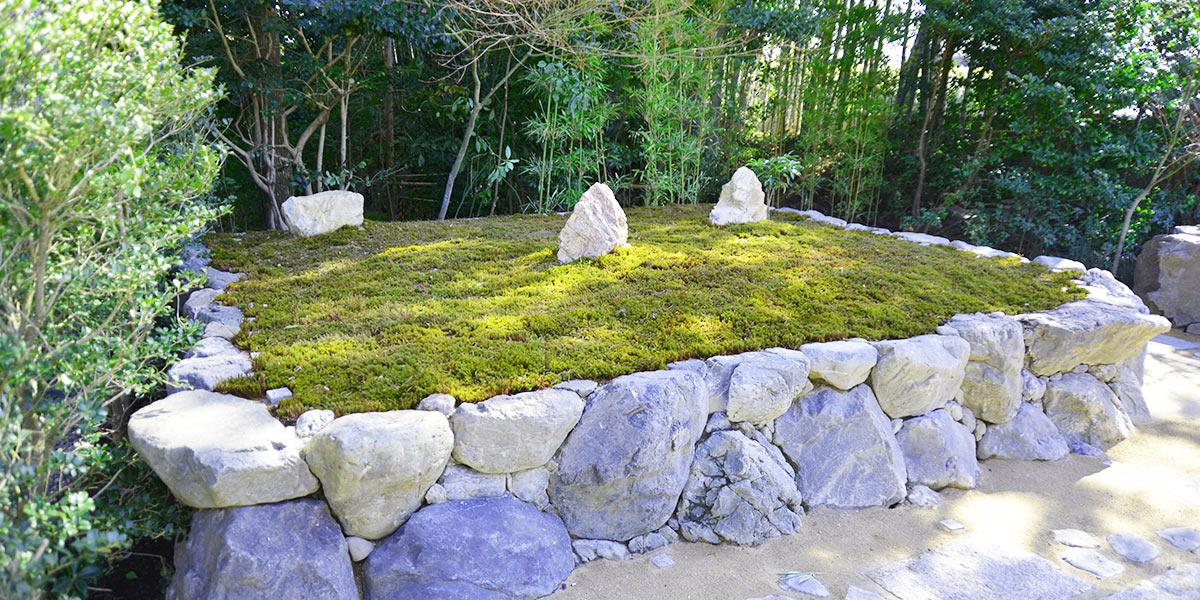 正受院樹木葬の風景